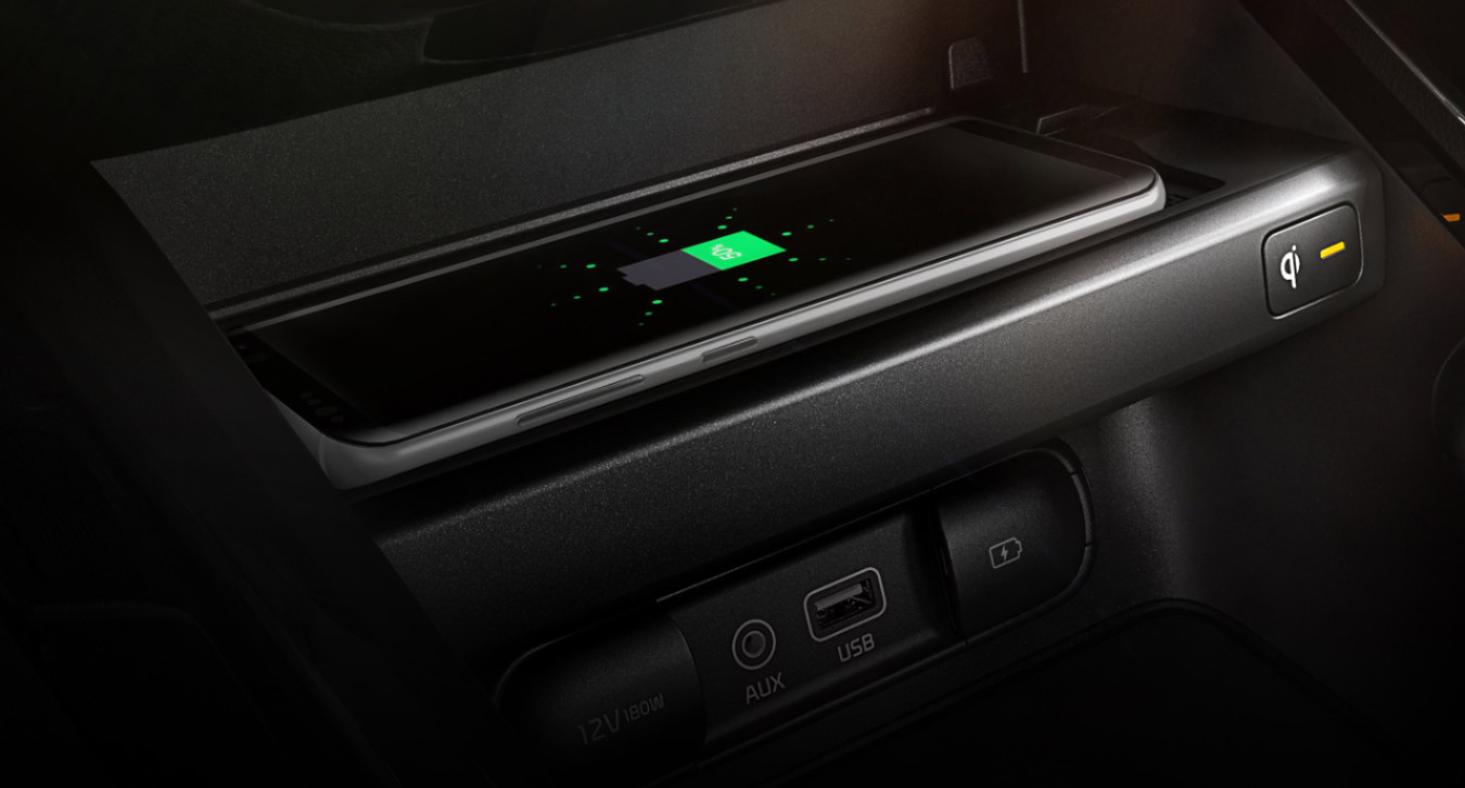 Charge Up With Ease in the 2020 Forte!