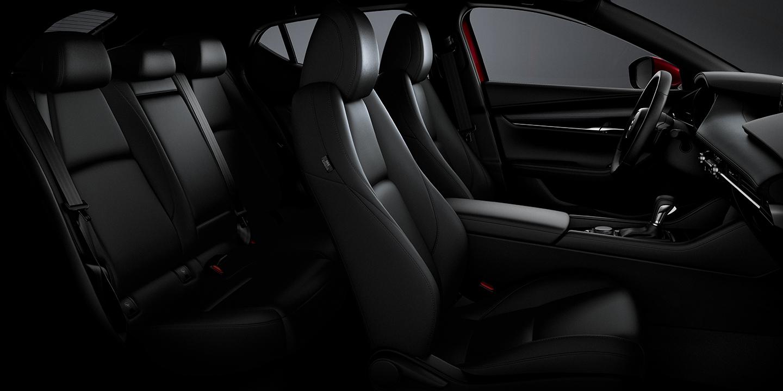 Interior of the Mazda3 Hatchback