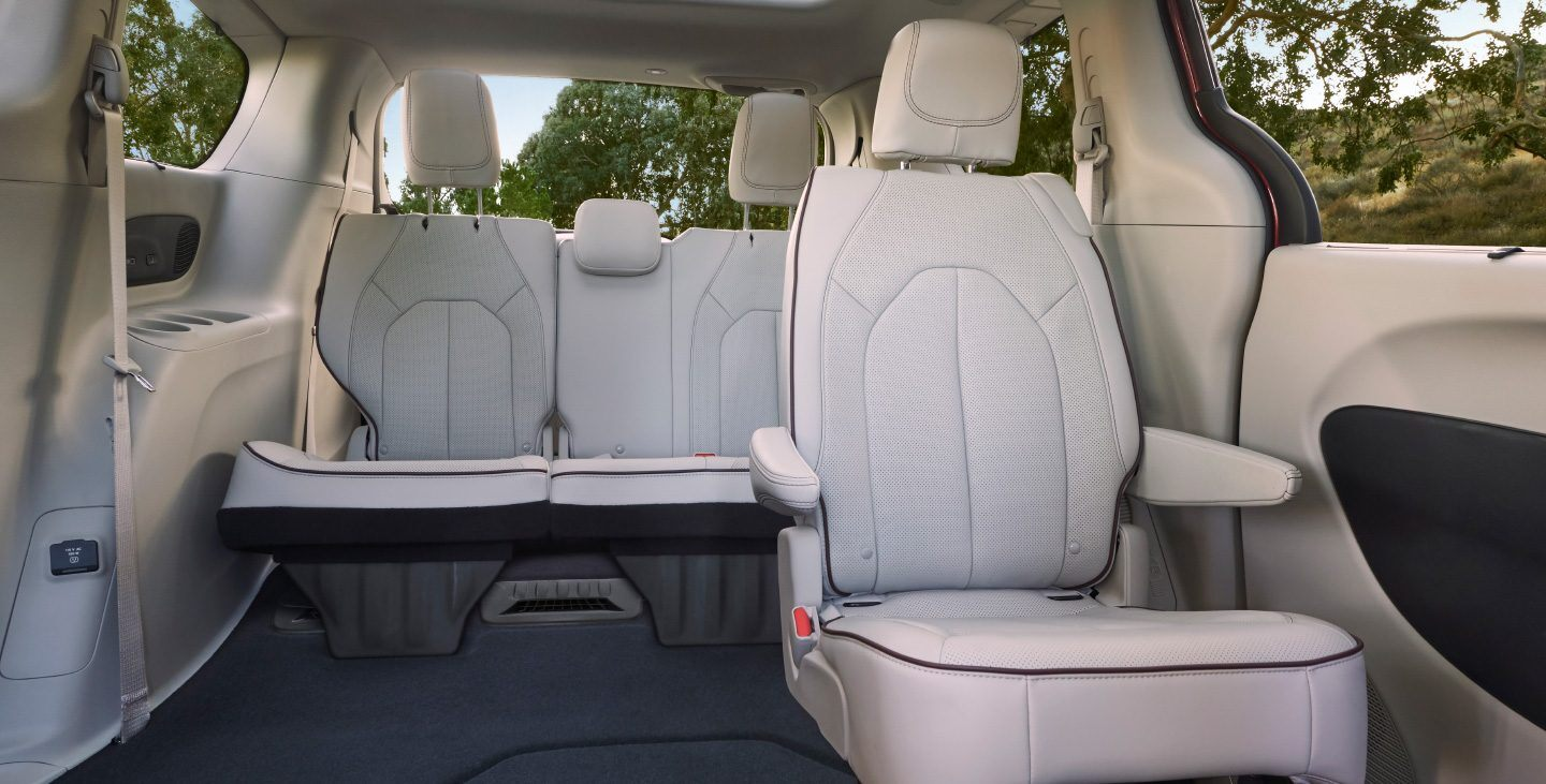 2020 Chrysler Pacifica Rear Seating