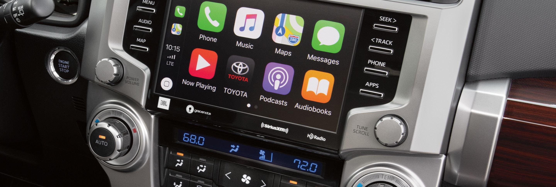 2020 Toyota 4Runner Center Stack