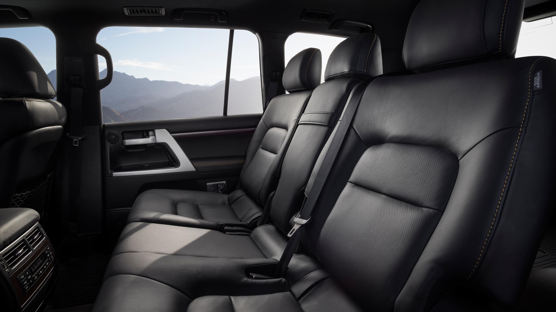 2020 Toyota Land Cruiser Seating