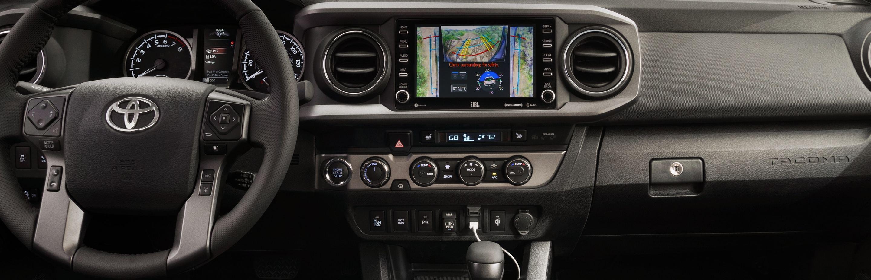 2020 Toyota Tacoma Dashboard