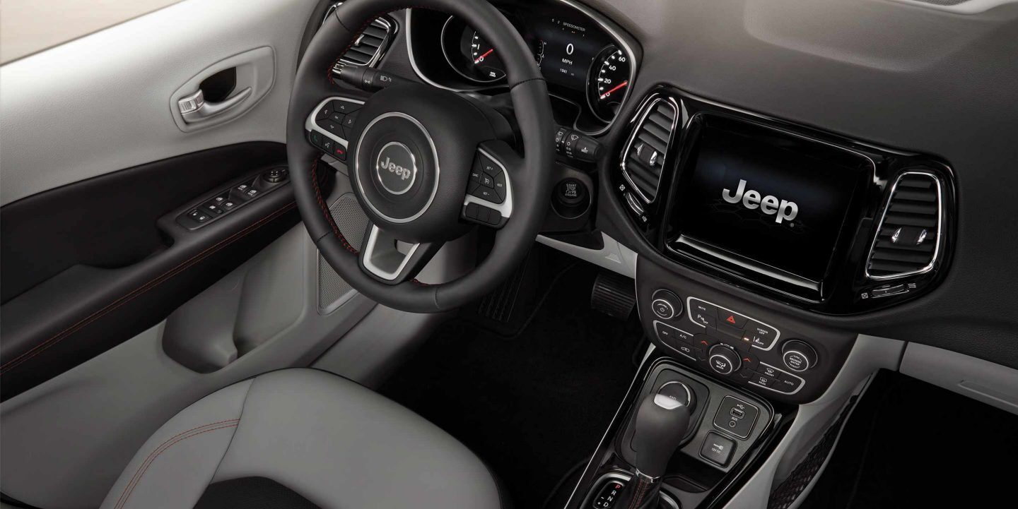 Interior of the 2019 Compass