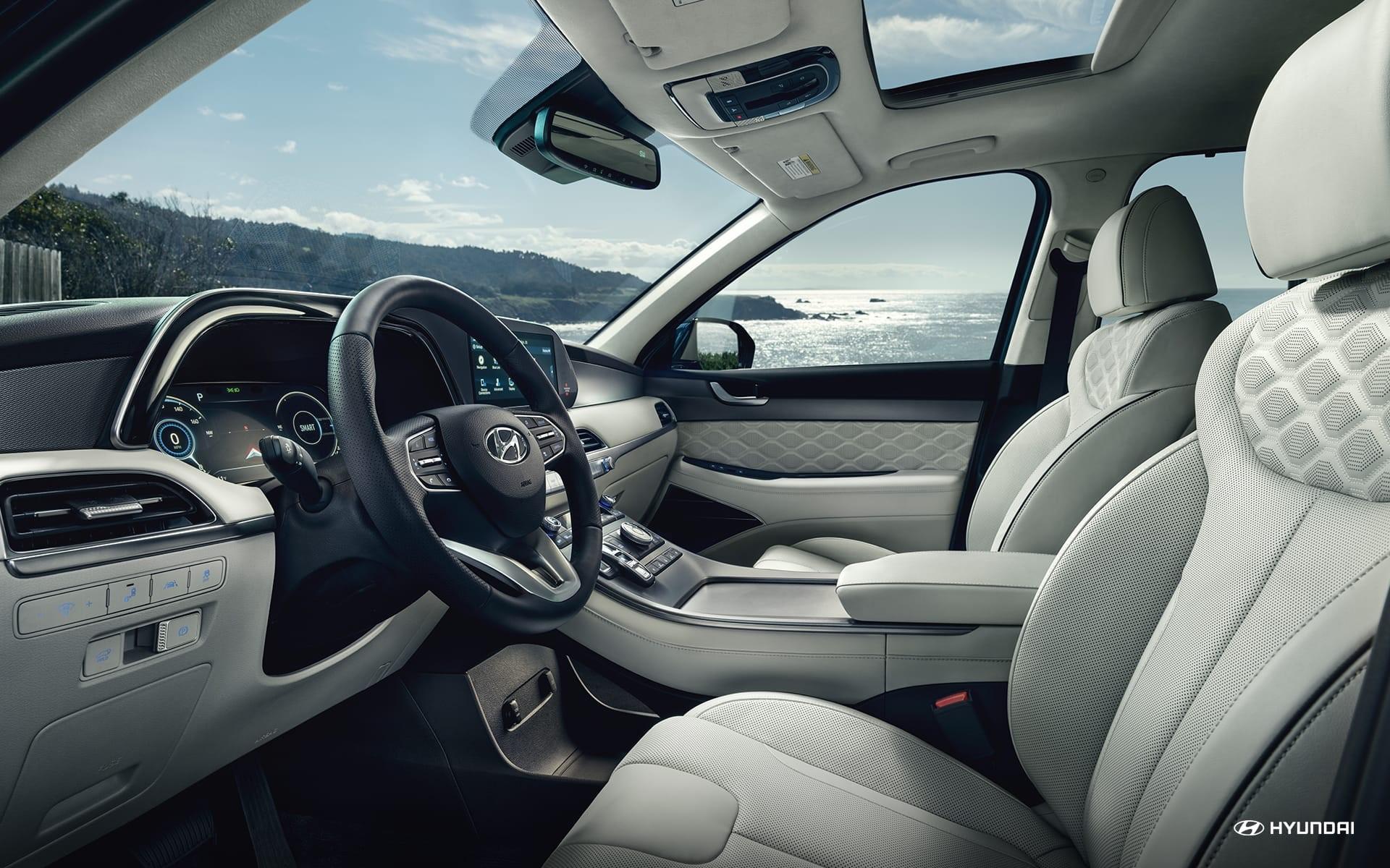 Moderna y muy completa: así es la Hyundai Palisade.