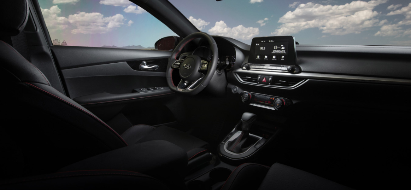 2020 Kia Forte Wide Interior