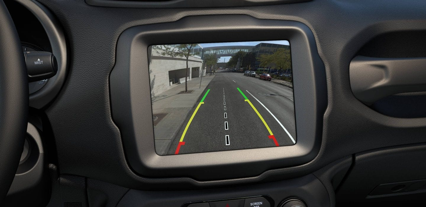 Backup Camera of the 2019 Renegade