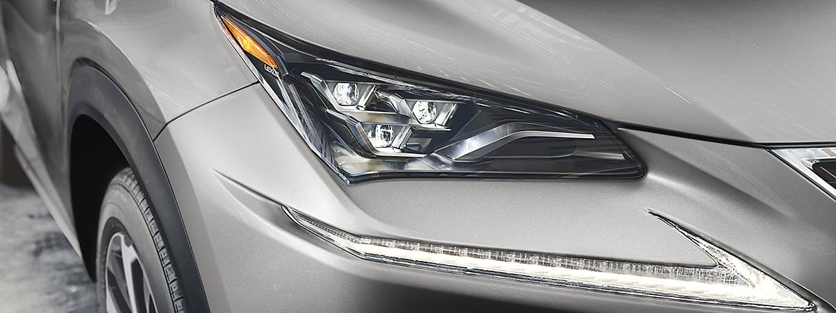 Stunning LED Headlights of the 2020 NX 300