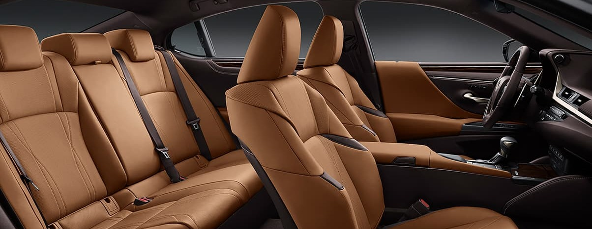 Classy Cabin of the 2020 ES 350