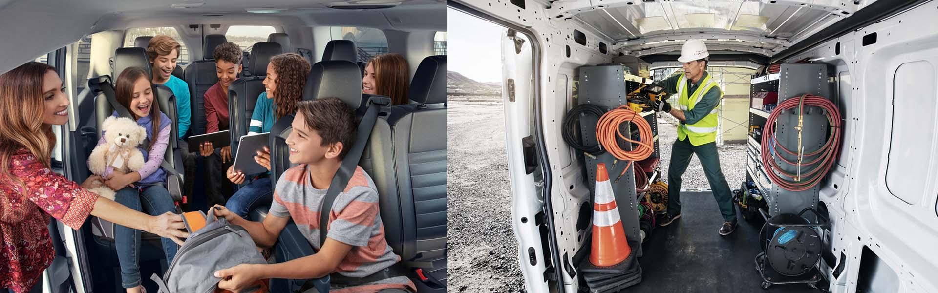 2020 Ford Transit Van interior