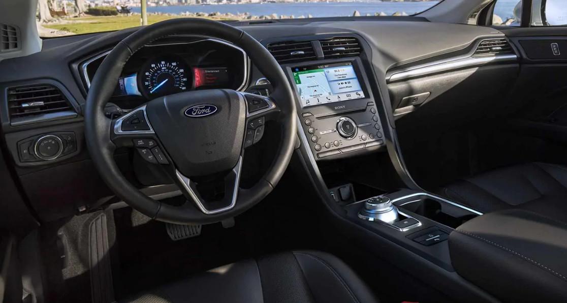 2019 Ford Fusion Driver Console