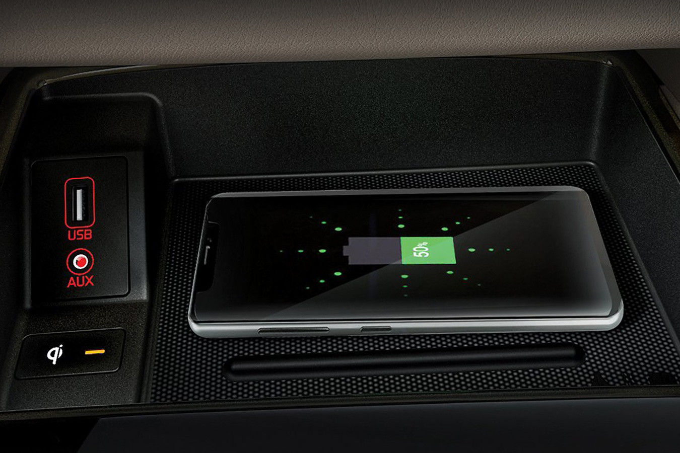 Wireless Charger in the 2020 Sedona
