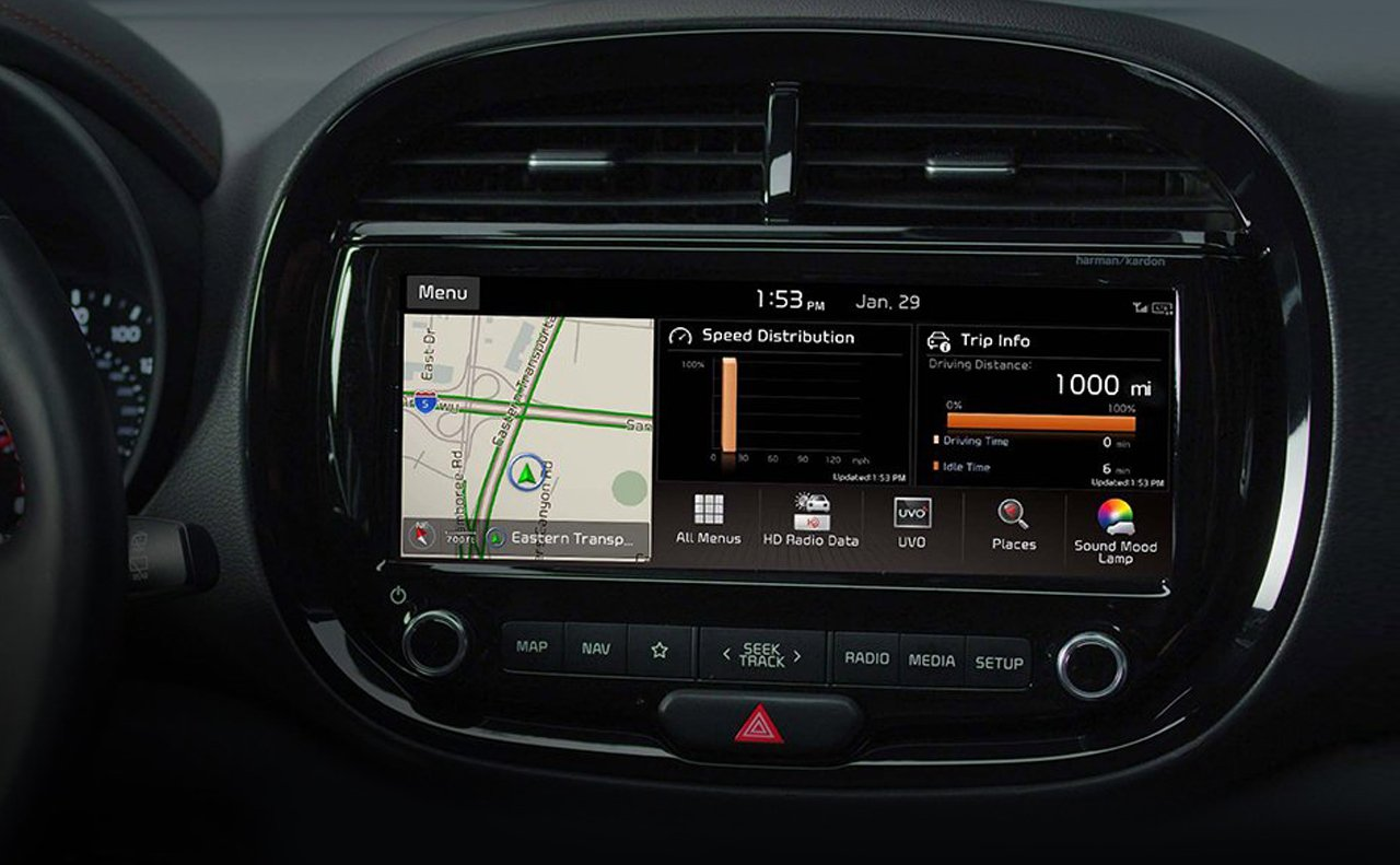 Touchscreen in the 2020 Soul