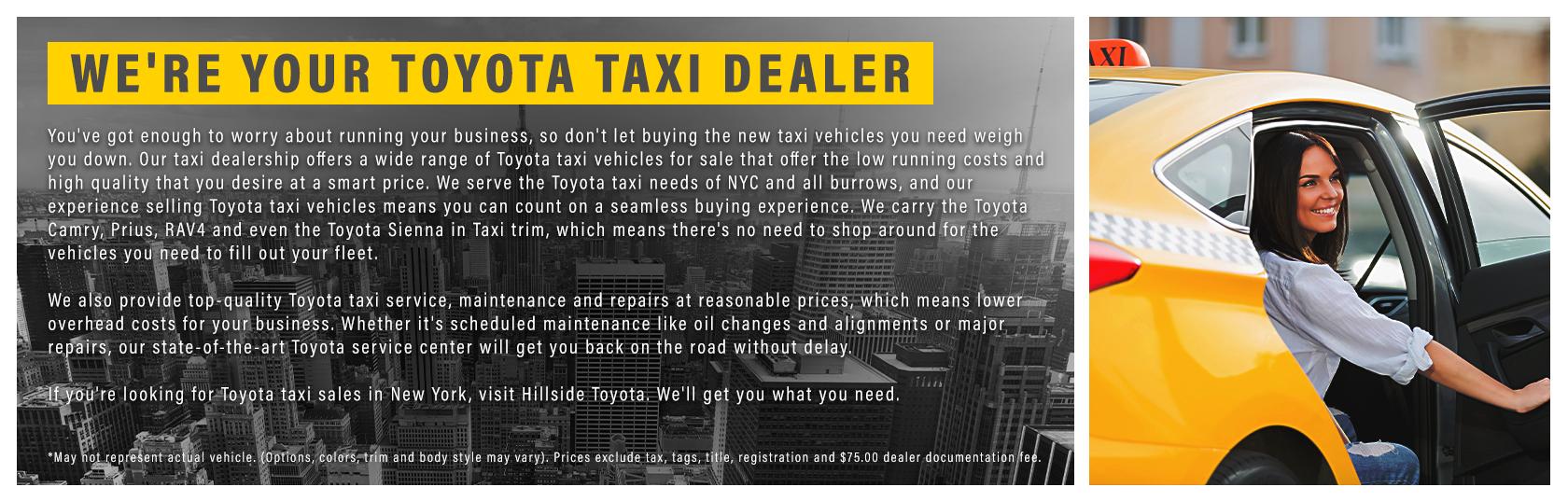 Toyota Taxi Fleet
