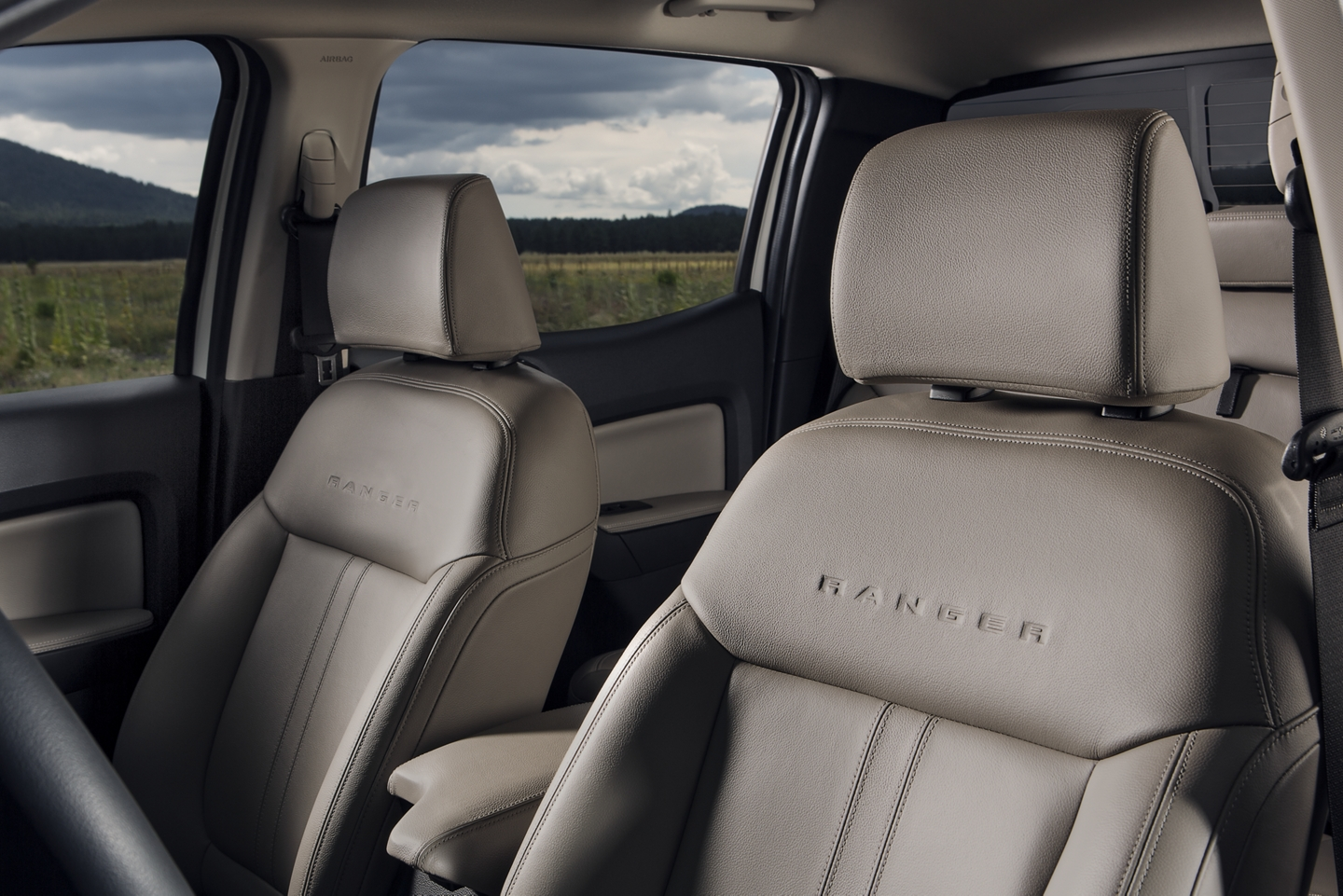 2019 Ford Ranger Seating