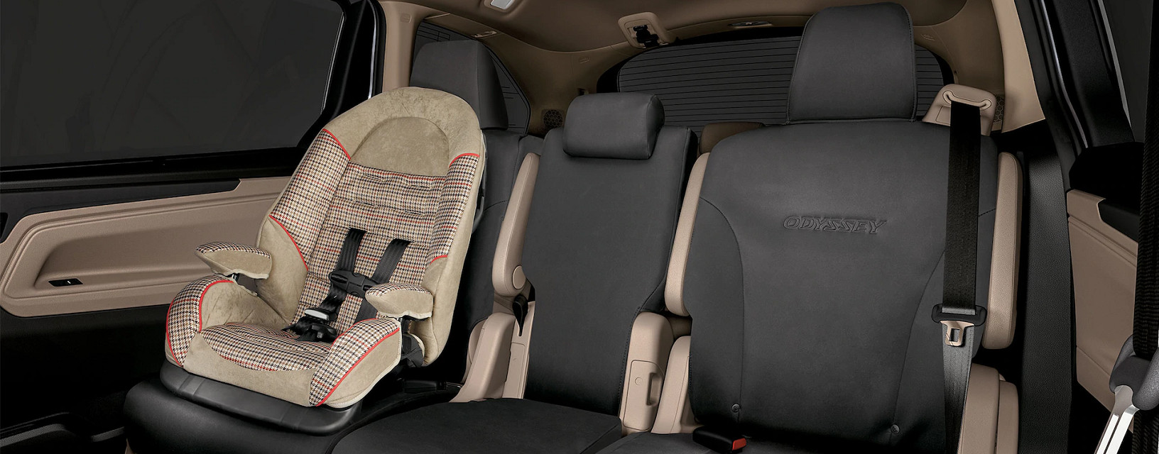 Spacious Seats of the 2020 Odyssey
