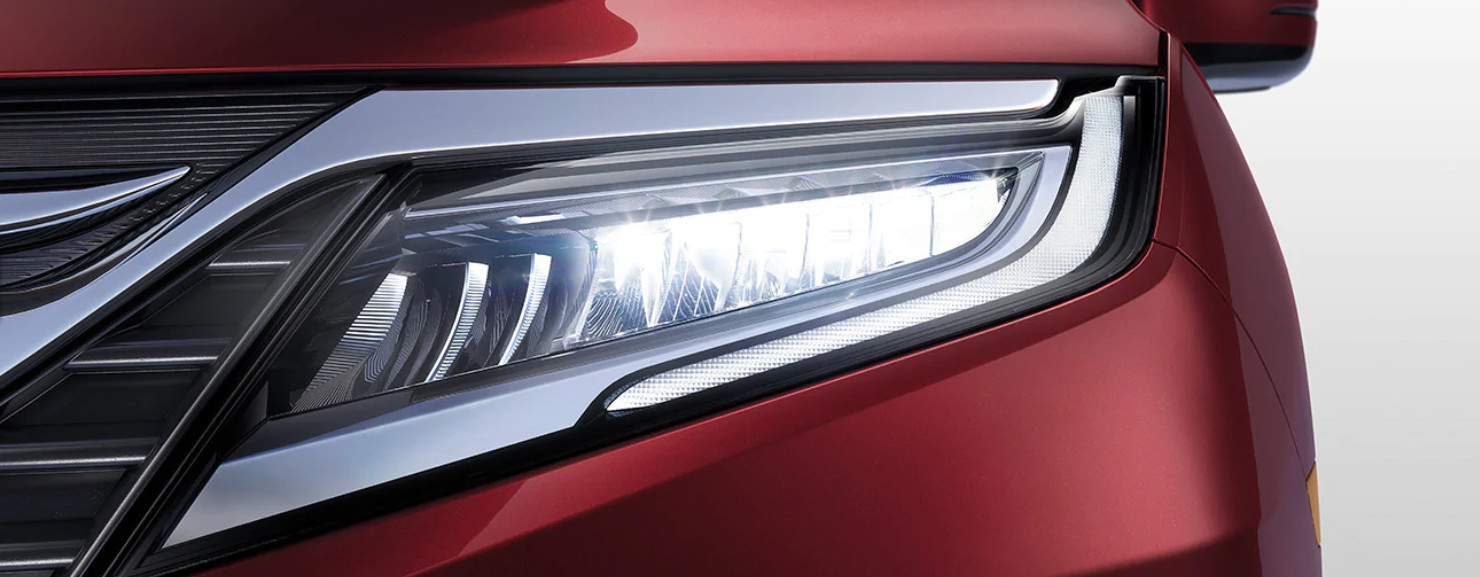 LED Headlights of the 2020 Odyssey