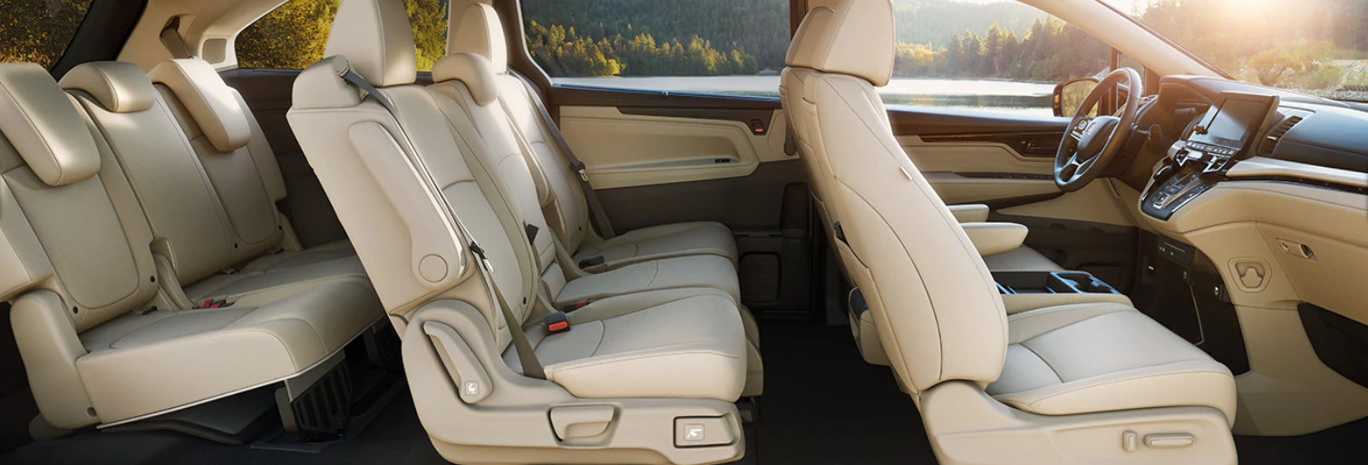 Roomy Cabin of the 2020 Honda Odyssey