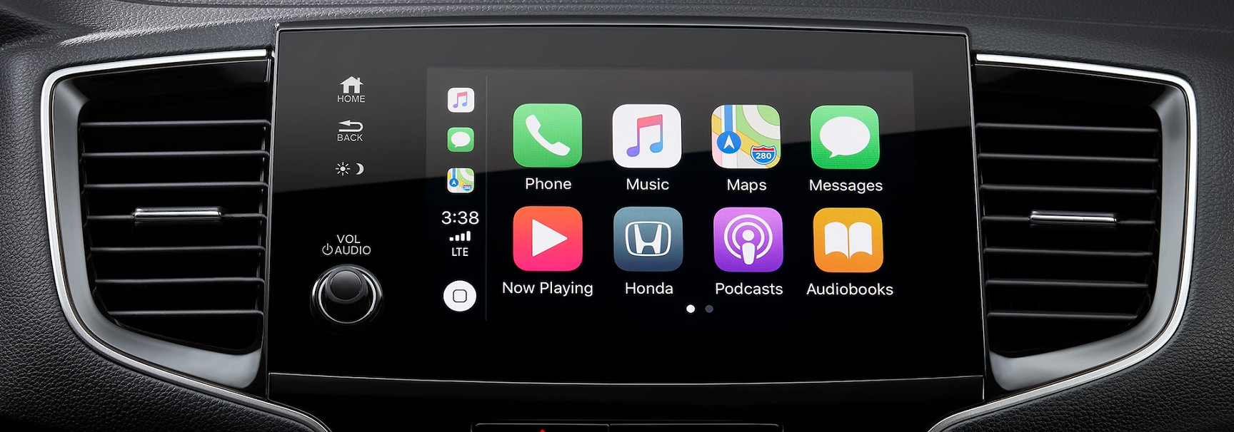 Apple CarPlay® in the 2020 Pilot