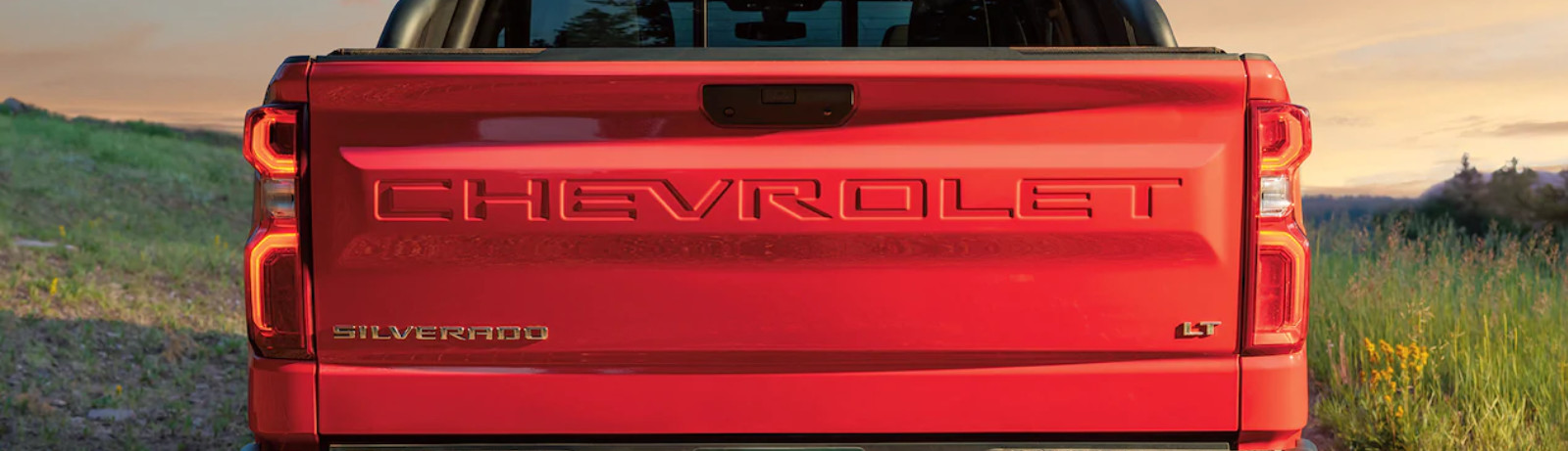 Tailgate of the 2020 Chevrolet Silverado 1500