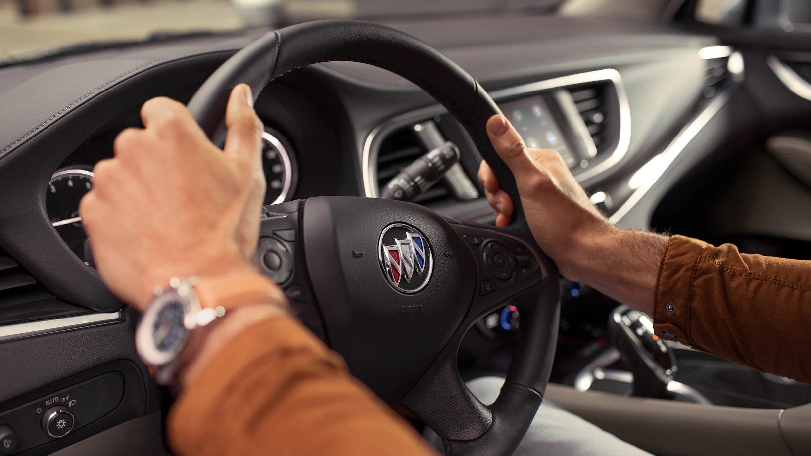 Steering Wheel of the 2020 Buick Enclave