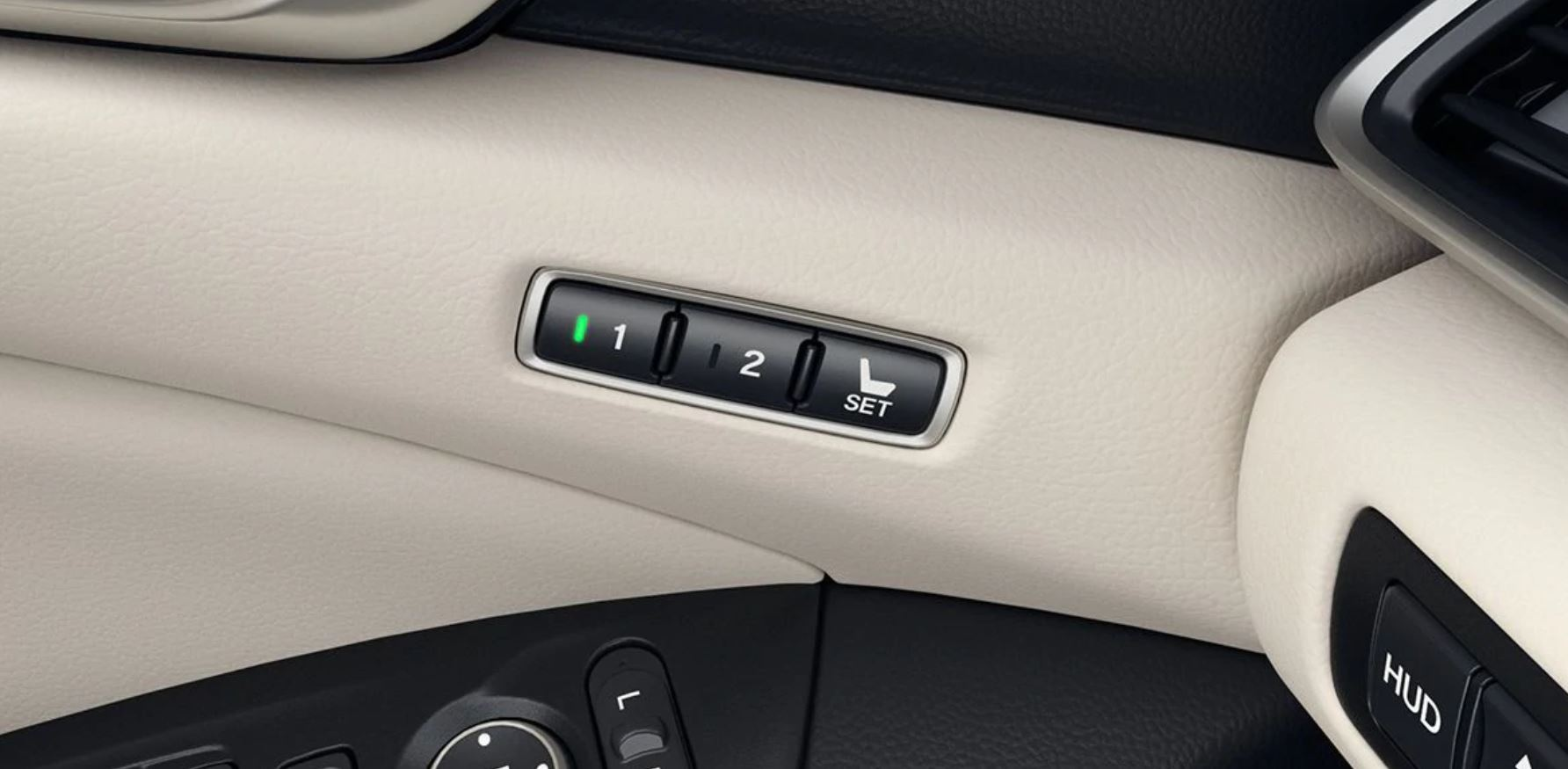 Driver Seat Memory System in the 2020 Accord