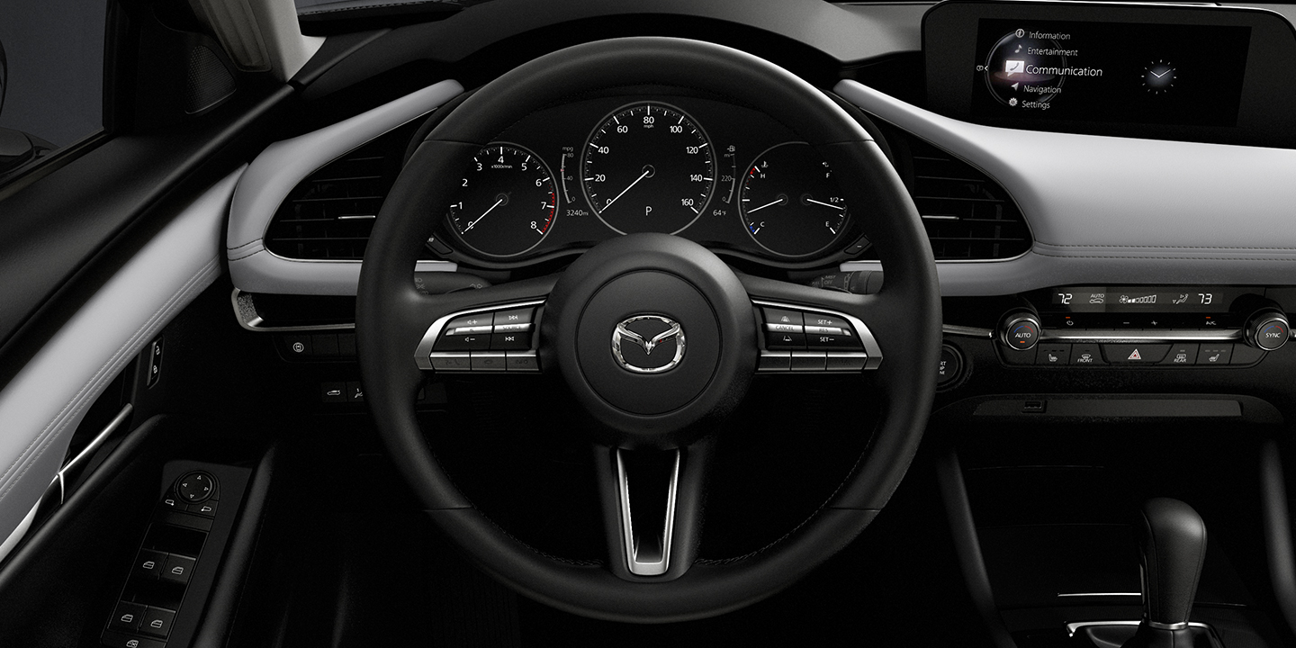 2019 Mazda3 Hatchback Steering Wheel