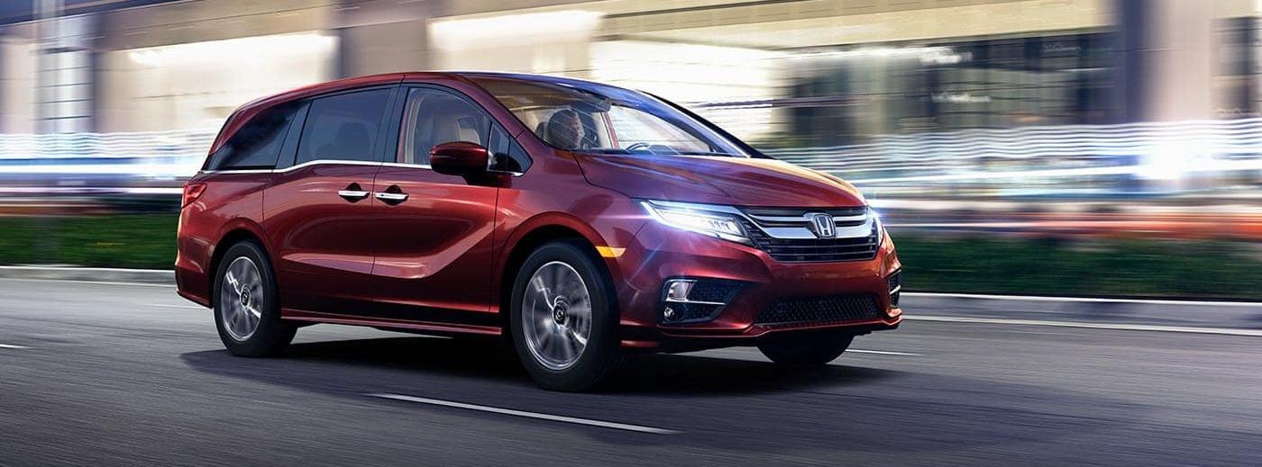 2020 Honda Odyssey Leasing near New Hudson, MI