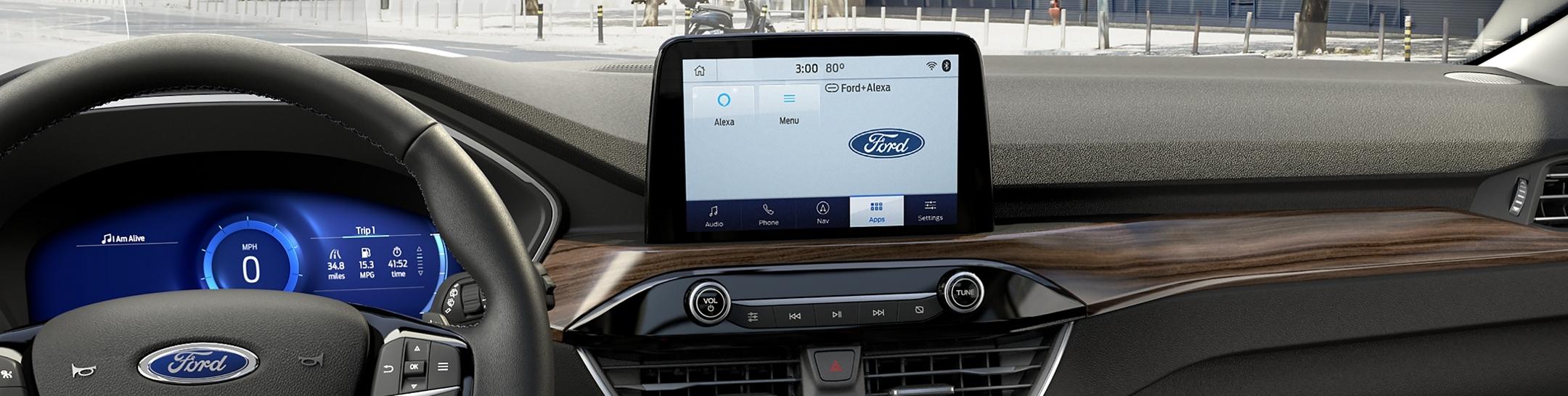 2020 Ford Mustang Ford + Alexa App