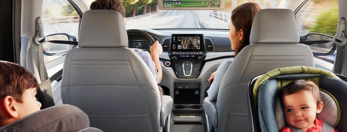 El interior de la Odyssey será 100% funcional a tus necesidades.