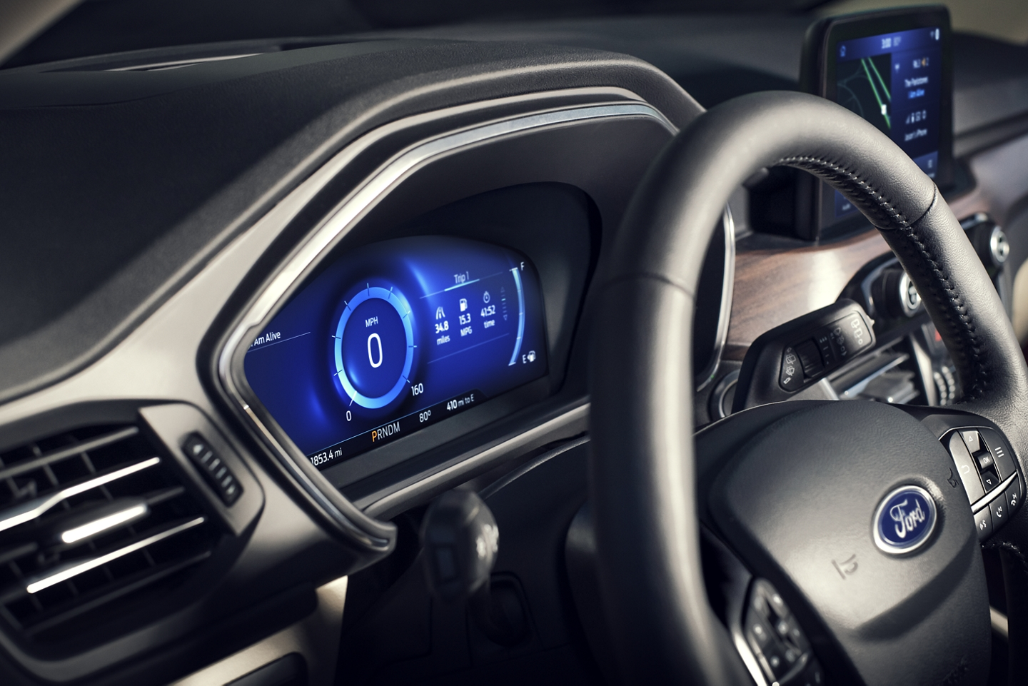 2020 Ford Escape Ice Blue® Cluster