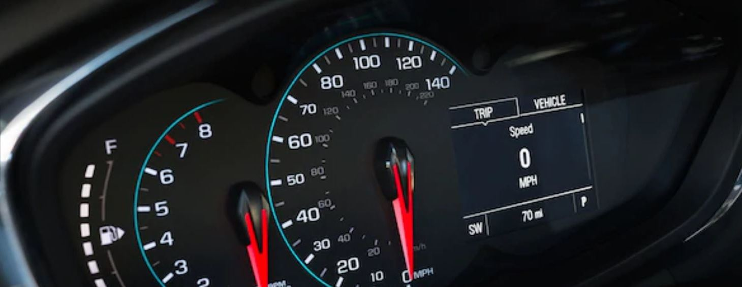 2020 Chevrolet Trax Gauges