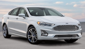 2020 Ford Fusion in Fredericton