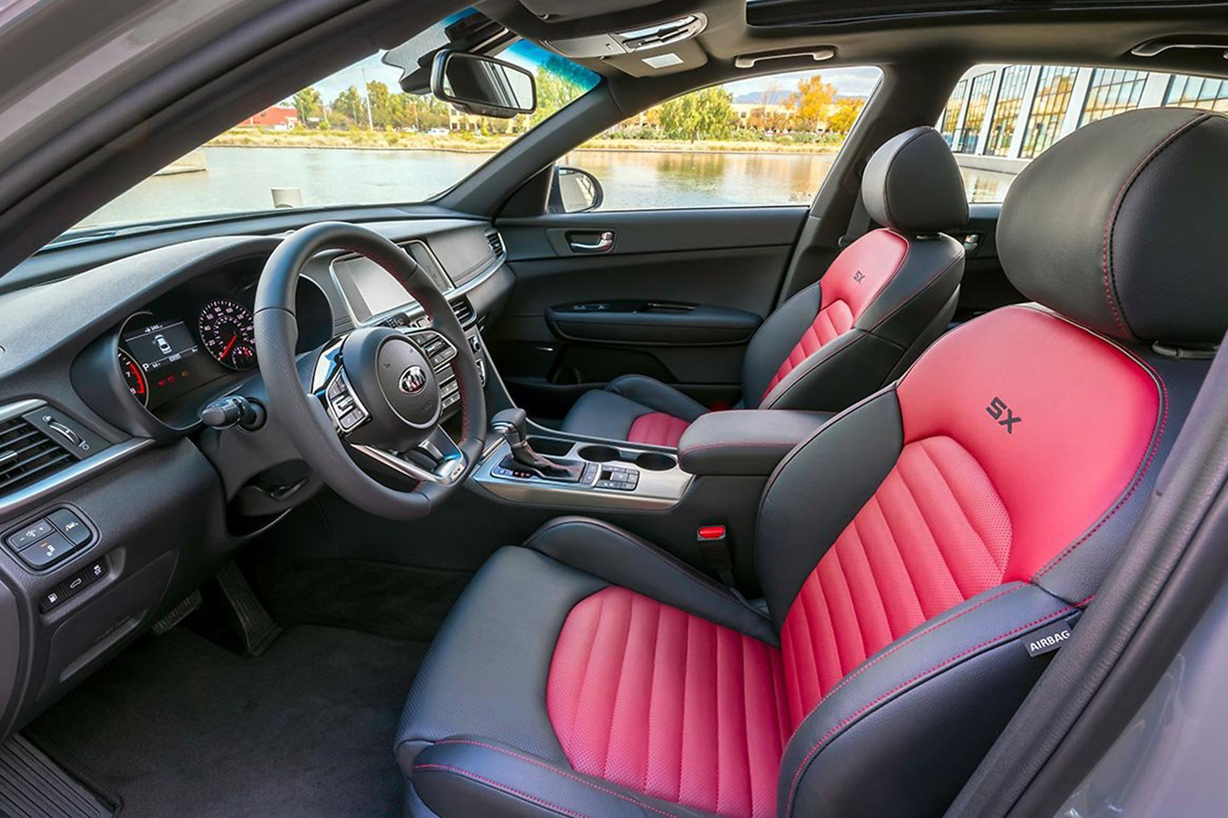 2020 Kia Optima Seating