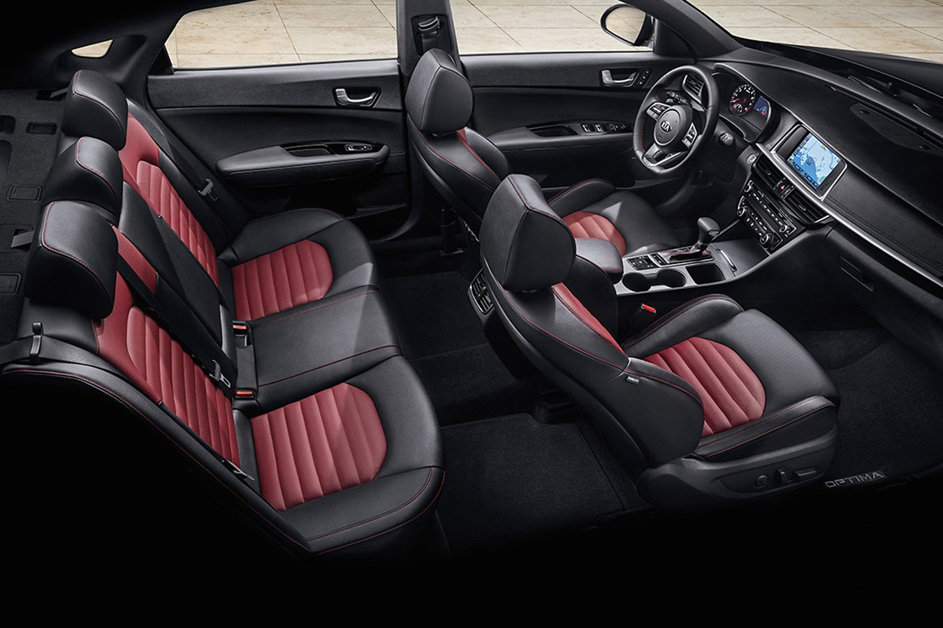 Step Inside the 2020 Kia Optima