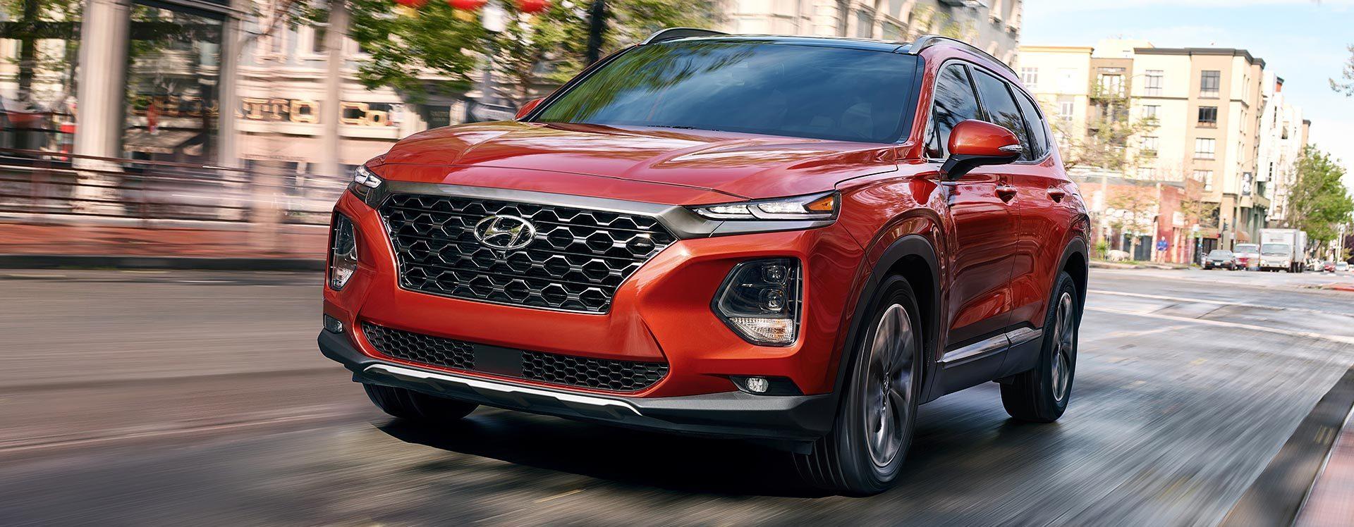 2020 Hyundai Santa Fe Leasing near Alexandria, VA
