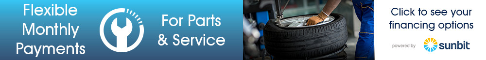 Flexible Monthly Payments for Parts and Service, check your solutions