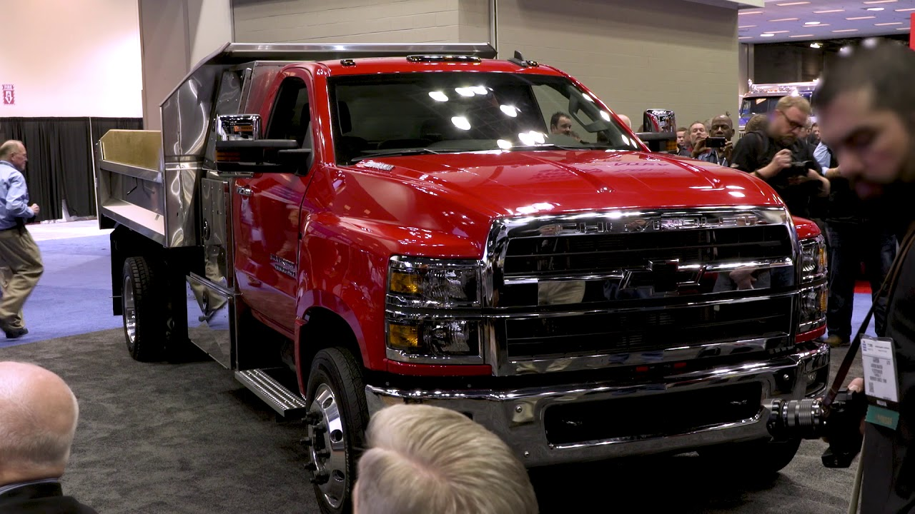 2019 Chevrolet Silverado Chassis Cabs