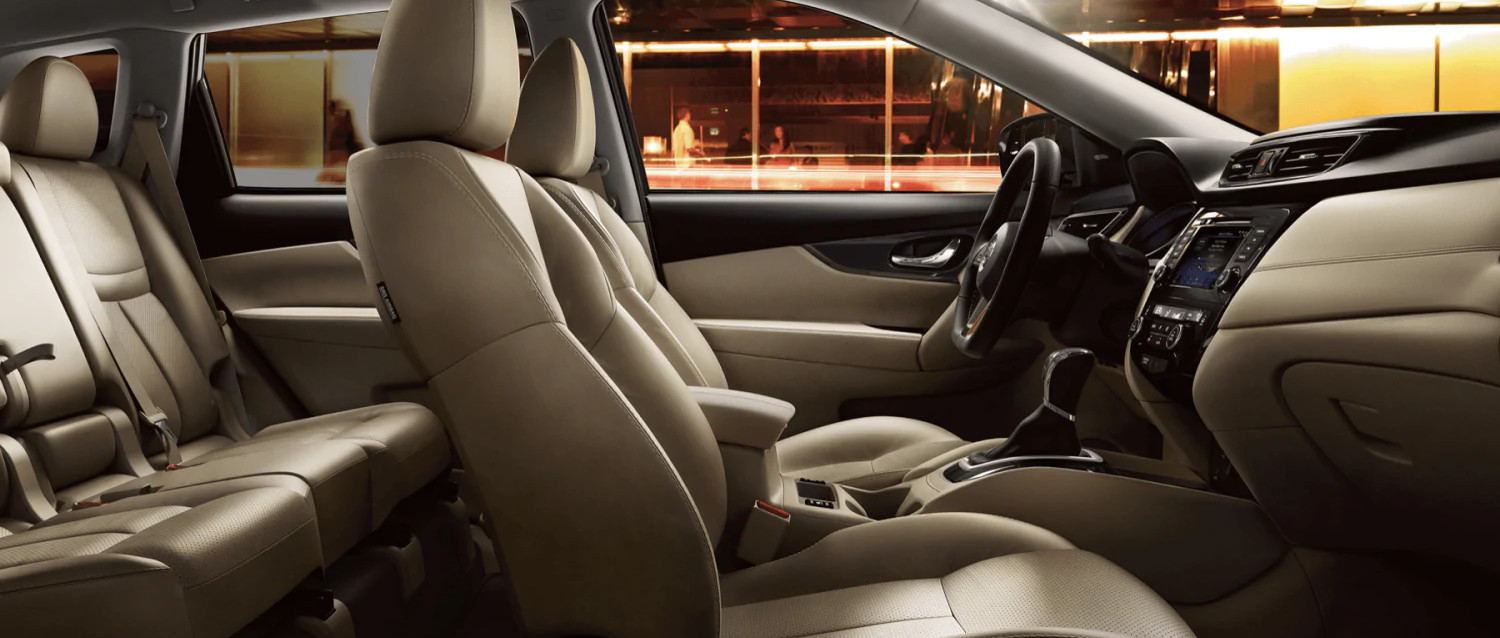 Ample Space in the 2020 Nissan Rogue