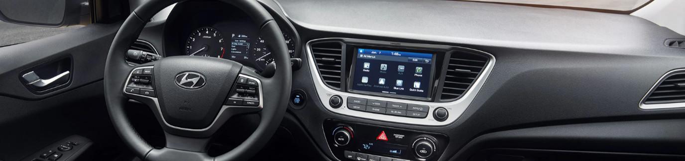 2020 Hyundai Accent Center Stack
