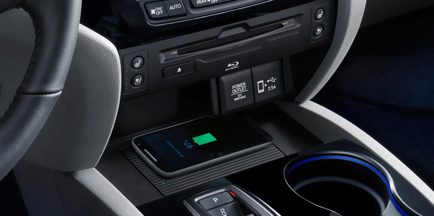 2020 Honda Pilot Wireless Charging