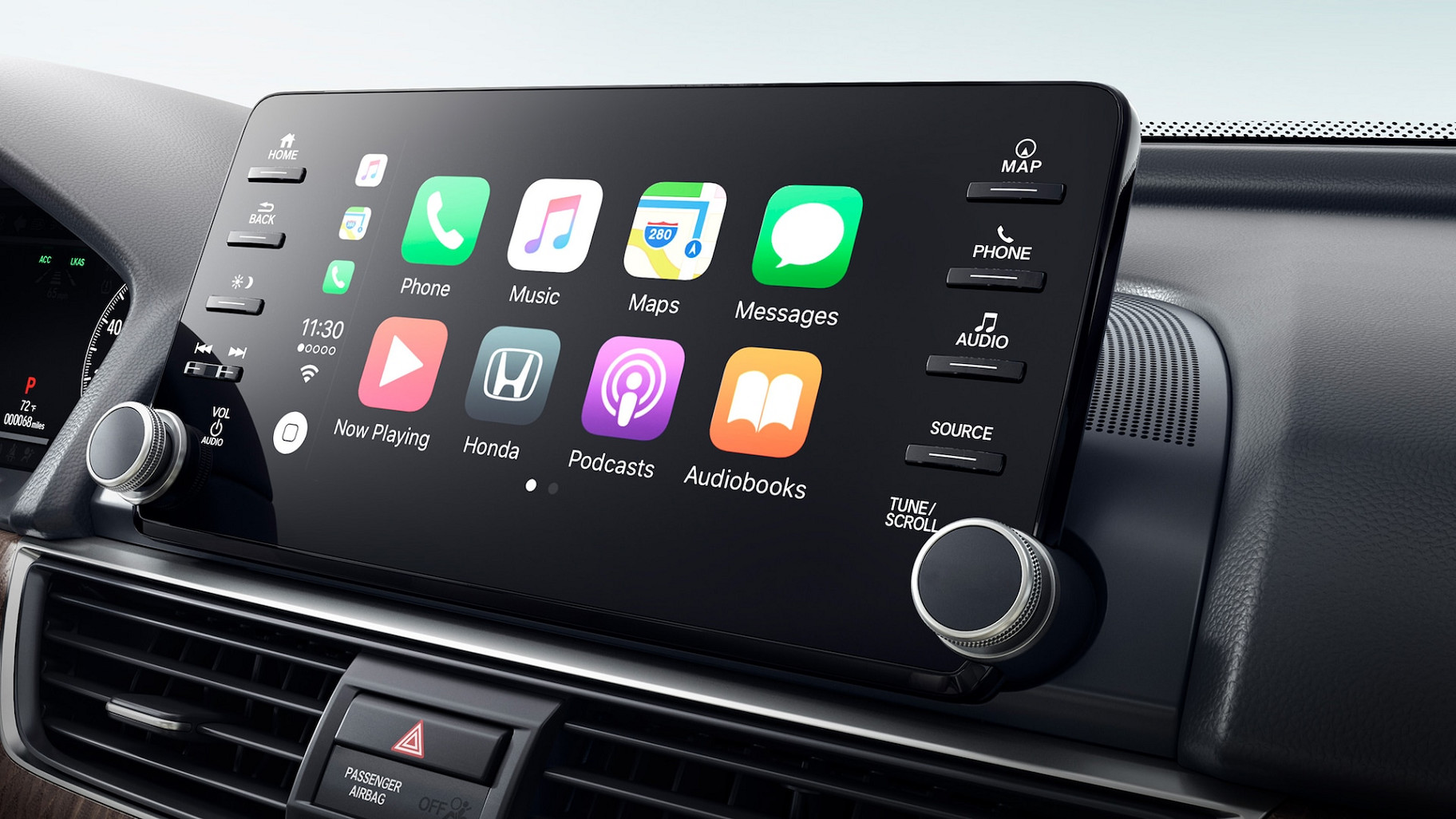 Apple CarPlay™ in the 2020 Honda Accord