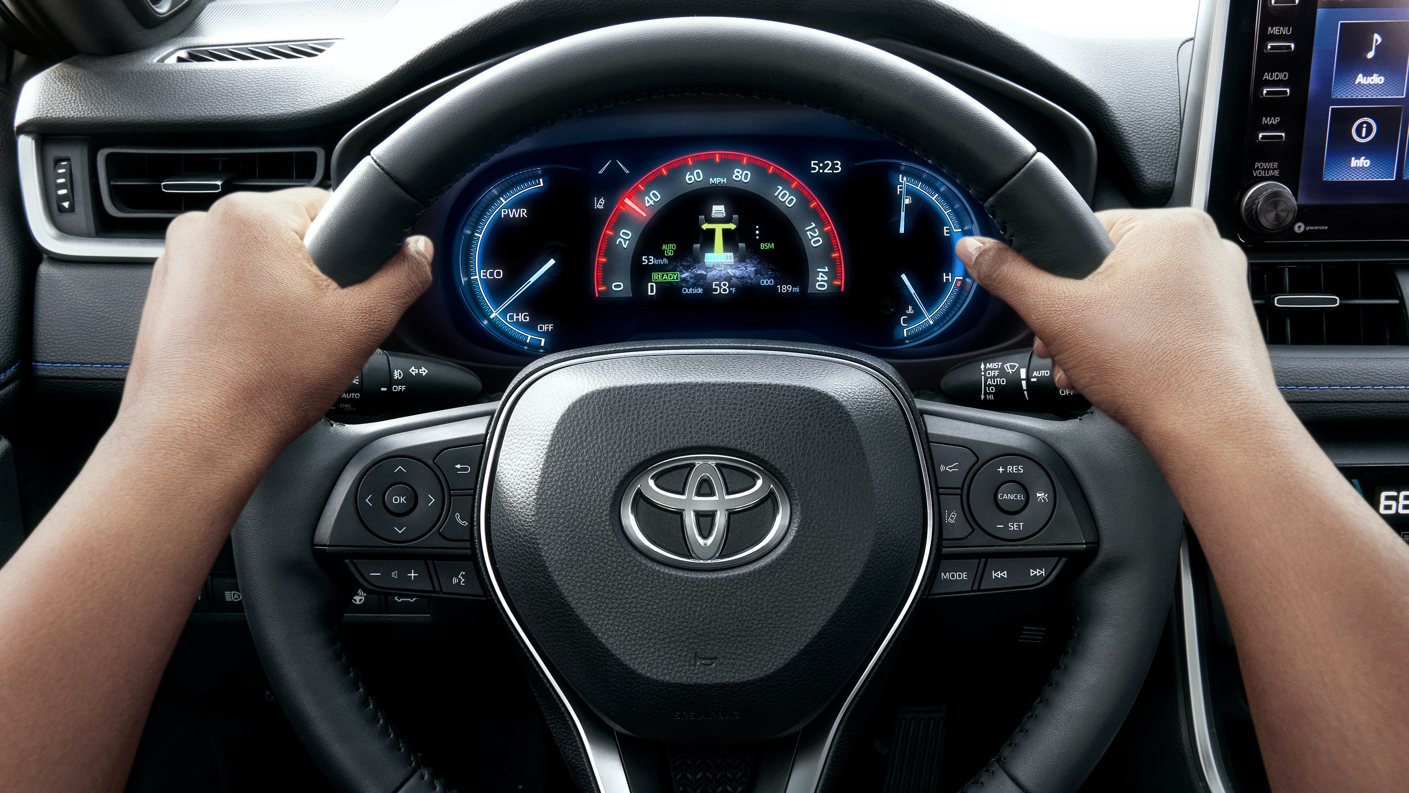 2020 Toyota RAV4 Steering Wheel