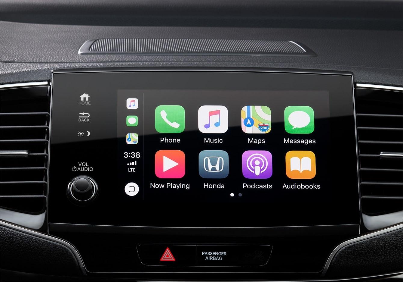 Apple Car Play en la Honda Pilot 2020