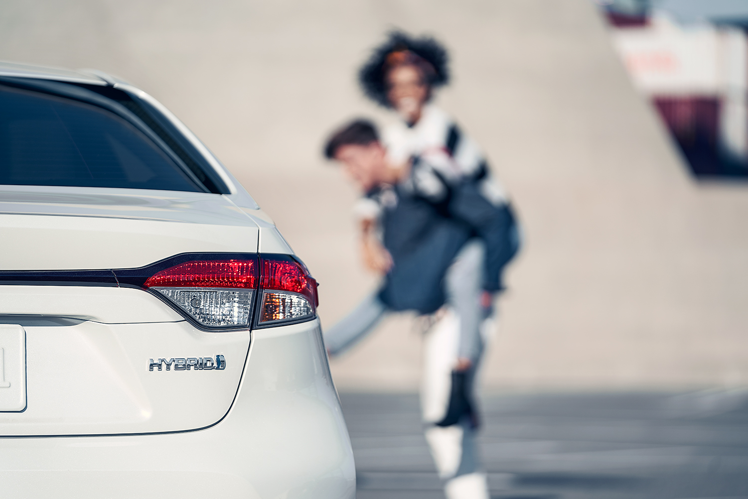 Model Features of the 2020 Toyota Corolla at Tri County Toyota in Royersford | White 2020 Corolla Hybrid