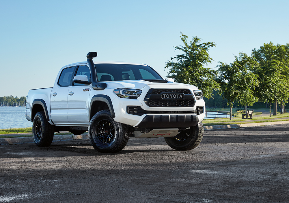 Model Features of the 2020 Toyota Tacoma at Tri County Toyota in Royersford | The front of the 2020 Tacoma