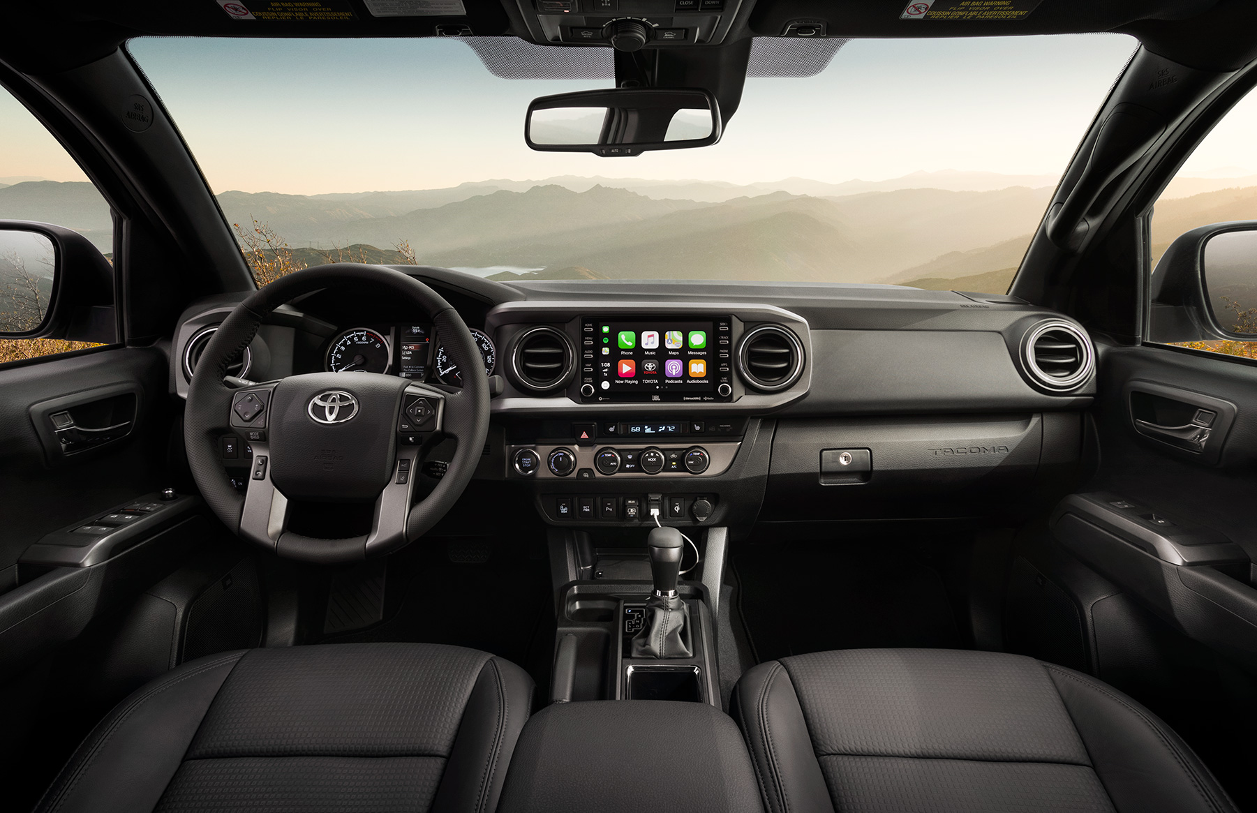 Model Features of the 2020 Toyota Tacoma at Tri County Toyota in Royersford | The dashboard of the 2020 Tacoma