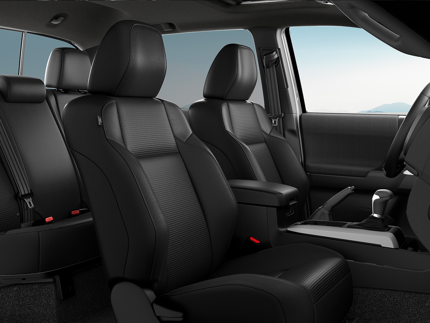 Model Features of the 2020 Toyota Tacoma at Tri County Toyota in Royersford | The leather seats of the 2020 Tacoma