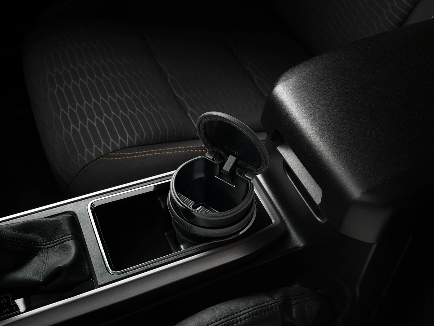 Model Features of the 2020 Toyota Tacoma at Tri County Toyota in Royersford   The cup holder of the 2020 Tacoma