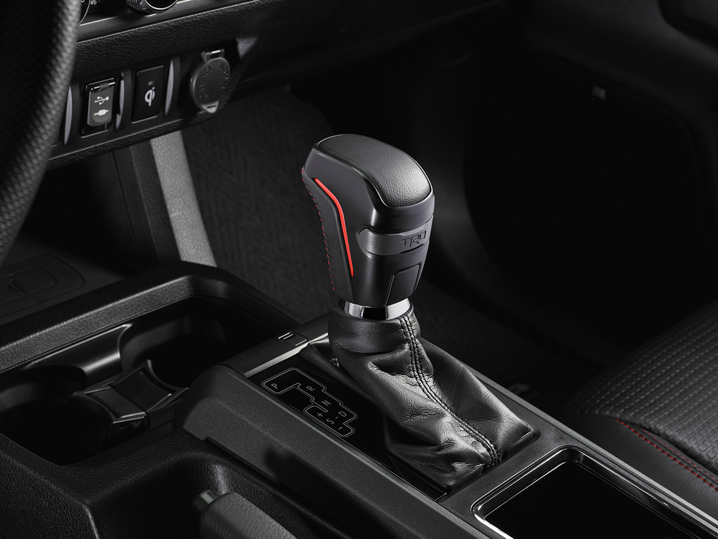 Model Features of the 2020 Toyota Tacoma at Tri County Toyota in Royersford | The gear shift of the 2020 Tacoma