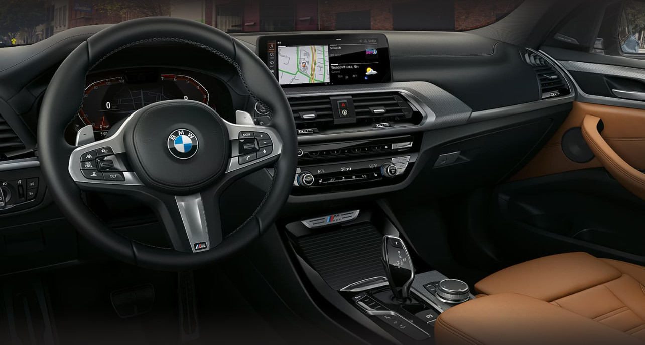 2020 BMW X3 Front Console